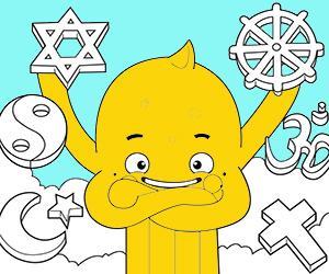Religie kleurplaten