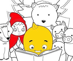 Kindersprookjes kleurplaten