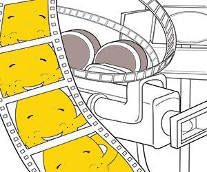 Films kleurplaten